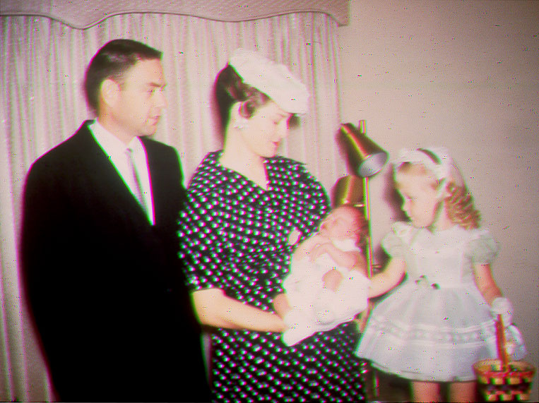 Hestand family, Easter 1962