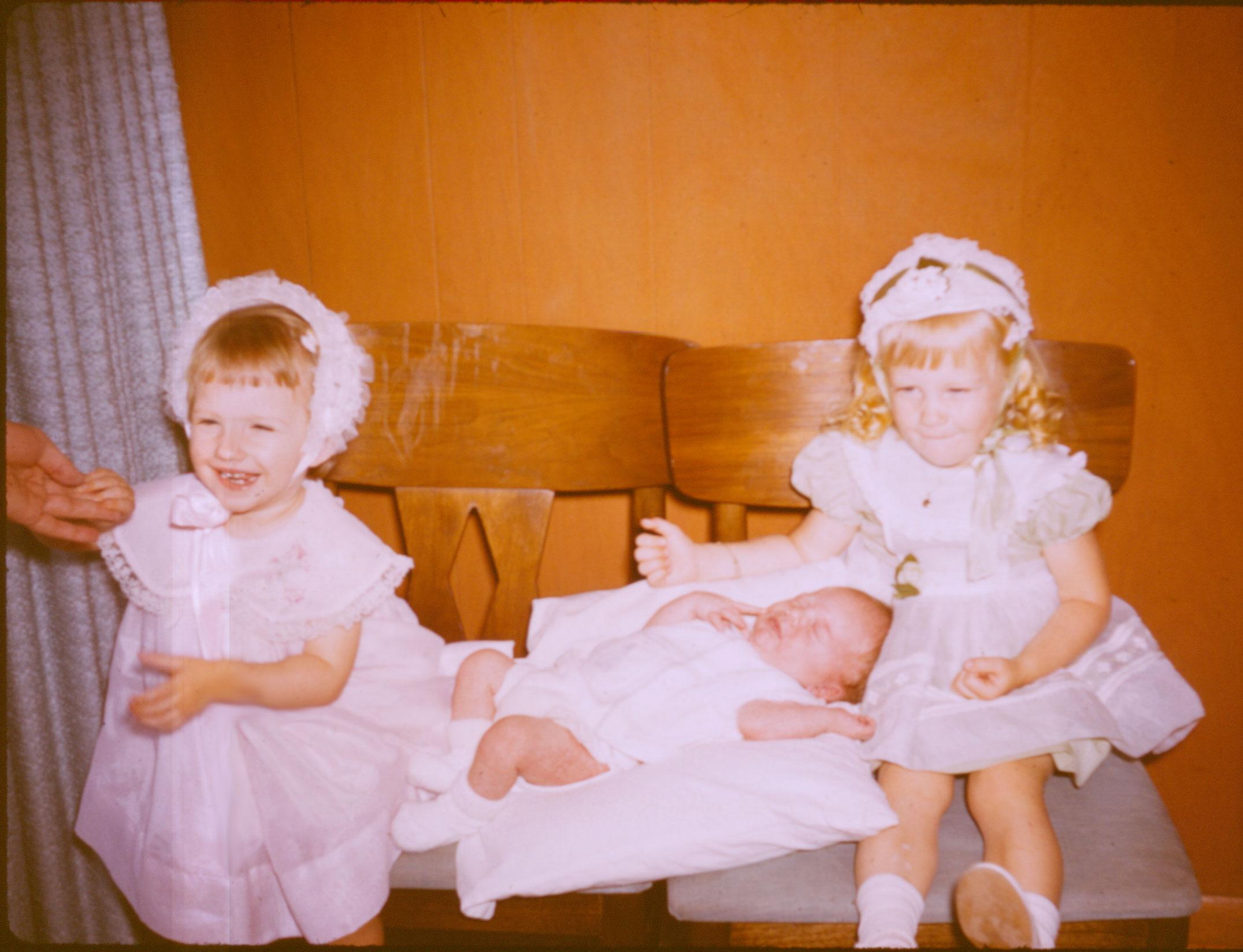 Shari, Rand and Mary, Easter 1963.