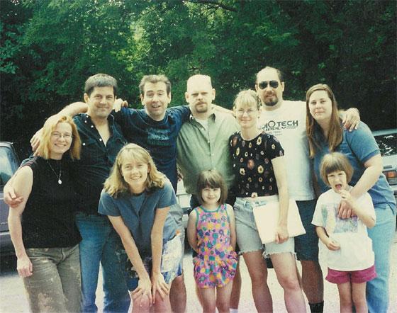 Cheryl F, Steve, Sue, Doug, Kelly, Mary, Al& Ellen