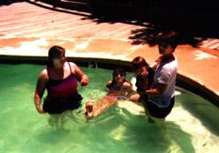 Cool pool kids